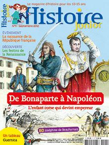 Histoire Junior n° 11 - Septembre 2012