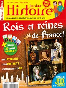 Histoire Junior (revue) : le magazine d'histoire pour les 10-15 ans | Faton, Louis. Directeur de publication