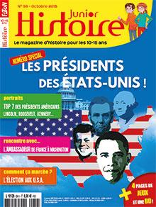 Histoire Junior n° 56 - Octobre 2016